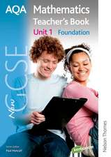 New AQA GCSE Mathematics Unit 1 Foundation Teacher's Book