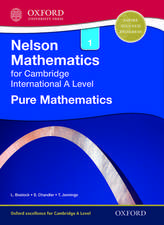 Nelson Pure Mathematics 1 for Cambridge International A Level