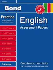 Lindsay, S: Bond English Assessment Papers 5-6 Years