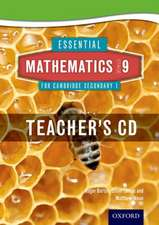 Essential Mathematics for Cambridge Lower Secondary Stage 9 Teacher CD-ROM
