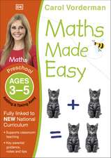Maths Made Easy: Adding & Taking Away, Ages 3-5 (Preschool): Supports the National Curriculum, Preschool Exercise Book