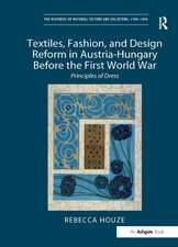The Textiles, Fashion, and Design Reform in Austria-Hungary Before the First World War