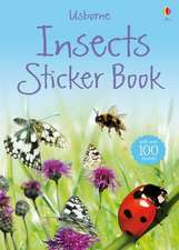 Insects Sticker Book