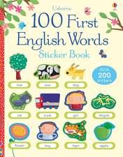 First Sticker Book: English Words