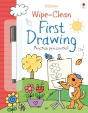 Wipe-Clean First Drawing