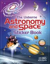 ASTRONOMY & SPACE STICKER BOOK