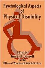 Psychological Aspects of Physical Disability