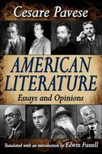 American Literature:  Essays and Opinions
