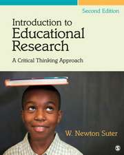 Introduction to Educational Research: A Critical Thinking Approach