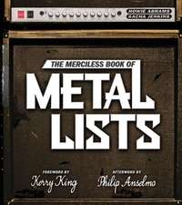 The Merciless Book of Metal Lists