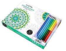 Vive Le Color! Harmony:  Color Therapy Kit [With Pens/Pencils]