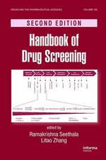 Handbook of Drug Screening, Second Edition:  Biology and Management