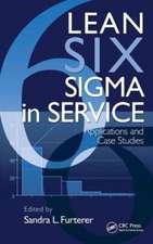 Lean Six Sigma in Service