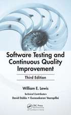 Software Testing and Continuous Quality Improvement [With CDROM]:  A Perioperative Transdisciplinary Approach
