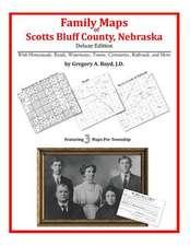 Family Maps of Scotts Bluff County, Nebraska