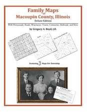 Family Maps of Macoupin County, Illinois