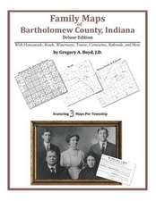 Family Maps of Bartholomew County, Indiana
