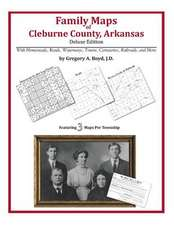 Family Maps of Cleburne County, Arkansas