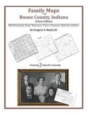 Family Maps of Boone County, Indiana