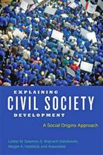 Explaining Civil Society Development – A Social Origins Approach