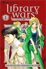 LIBRARY WARS LOVE & WAR GN VOL 01