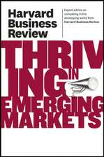 Thriving in Emerging Markets
