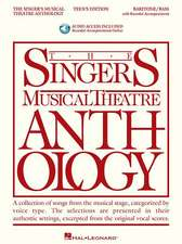 The Singer's Musical Theatre Anthology - Teen's Edition: Baritone/Bass Book with Online Audio [With 2 CDs]