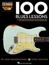 100 Blues Lessons: Guitar Lesson Goldmine