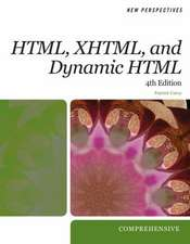 Carey, P: New Perspectives on HTML, XHTML, and Dynamic HTML
