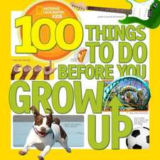 100 Things to Do Before You Grow Up (Outlet)