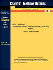 Studyguide for Managing Quality