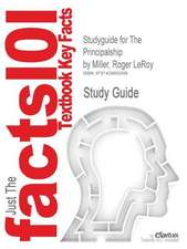 Studyguide for the Principalship by Miller, Roger Leroy, ISBN 9780205545674