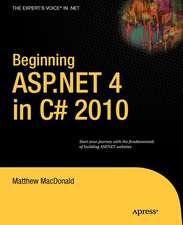 Beginning ASP.NET 4 in C# 2010