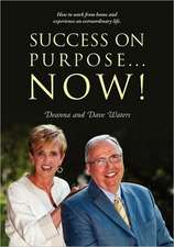 Success on Purpose... Now!:  How to Work from Home and Experience an Extraordinary Life.