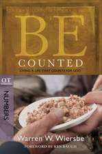Be Counted:  Numbers