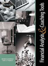 Financial Analysis & Coaching Tools for the Salon and Spa on CD