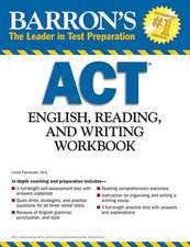 Barron's ACT English, Reading and Writing Workbook:  Biology--The Living Environment