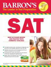 Barron's SAT with Online Test