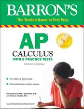 Barron's AP Calculus with Online Tests