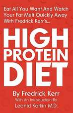High Protein Diet:  With Self-Defence Applications