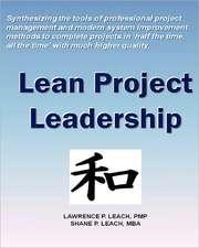 Lean Project Leadership