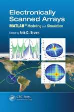 Electronically Scanned Arrays MATLAB Modeling and Simulation