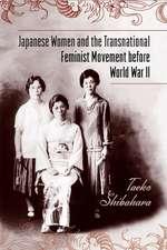 Japanese Women and the Transnational Feminist Movement before World War II
