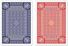 Blue and Red Premium Playing Cards, Two Standard Decks