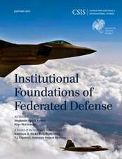 Institutional Foundations of Federated Defense