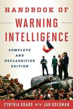 Handbook of Warning Intelligence