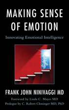 Making Sense of Emotions
