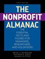 The Nonprofit Almanac: The Essential Facts and Figures for Managers, Researchers, and Volunteers