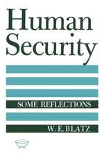 Human Security: Some Reflections