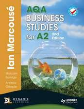 AQA Business Studies for A2